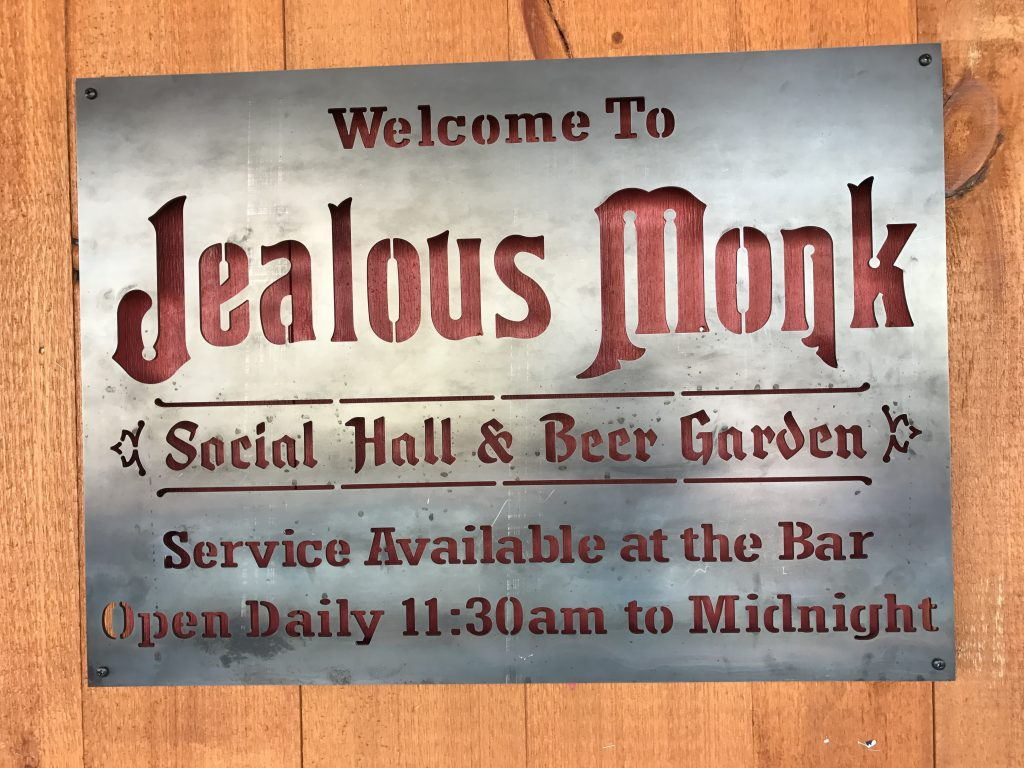 Jealous Monk Social Hall and Beer Garden